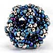 Infinity Dodecahedron Beaded Beads